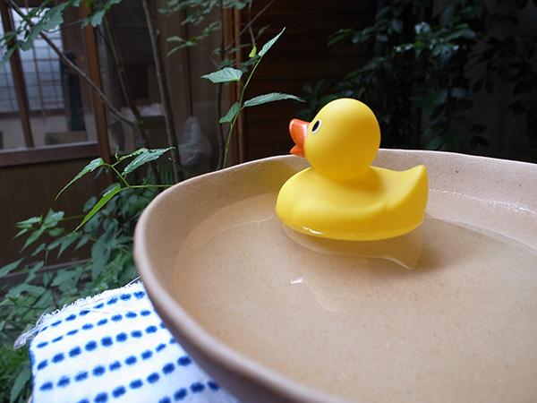 の、むこう。風呂を洗う